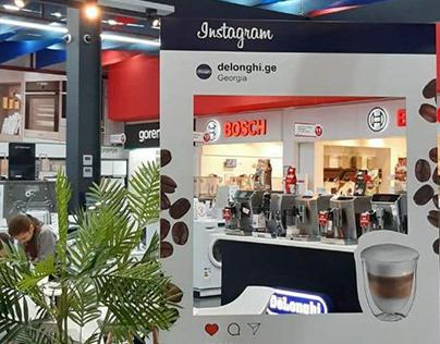 Инста-рамка для Delonghi