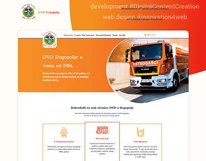 Firefighters Dugopolje website / DVD Dugopolje