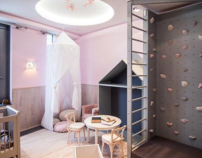 Квартира в доме на Мосфильмовской улице.