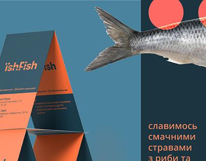 Print design for Kiev restaurant