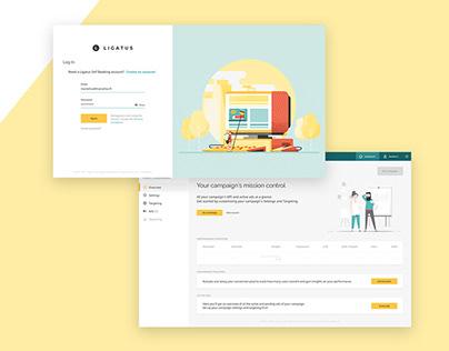 Online Advertising Platform: UX & UI