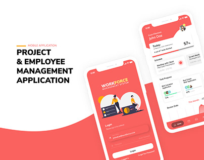 Project & Employee Management Application
