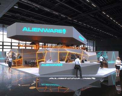 Alienware Exhibition Stand
