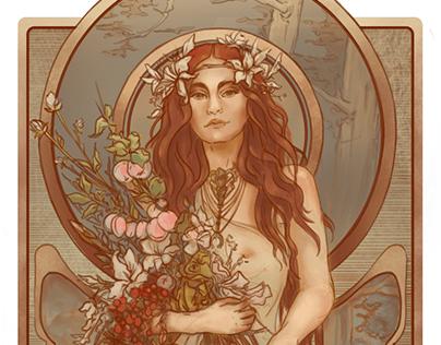 Goddess Freyja