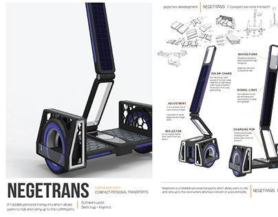 NEGETRANS | compact personal transport