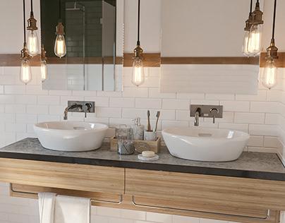 APARTMENT PROJECT 01|BathroomDesign|