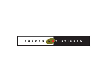 Logo: Shaken Not Stirred