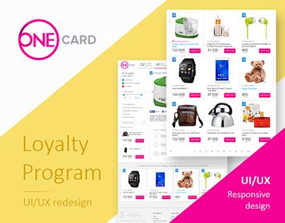 UI/UX Design — Loyalty Program