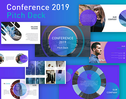 CONFERENCE - FREE POWERPOINT PITCH DECK TEMPLATE