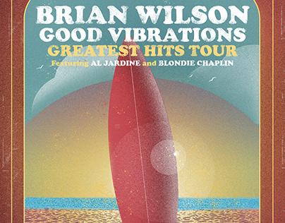 Brian Wilson Tour Poster