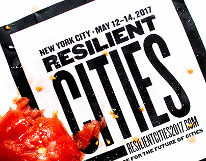 RESILIENT CITIES // Conference Concept + Identity