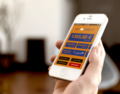 ING Direct · iOS App (Personal work)