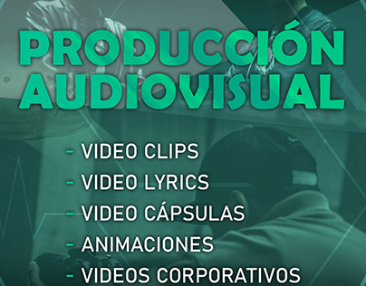 PRODUCTOR AUDIO VISUAL Y MUSICAL