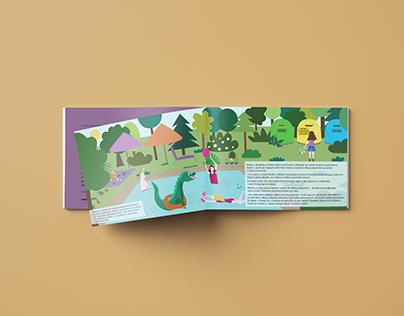 Trial illustration for the childrenbook