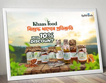 Khaas Food social post for Kablewala Bangladesh