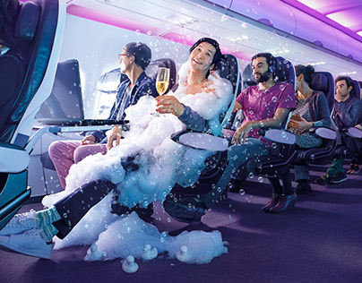 Virgin America - Feel the Upgrade