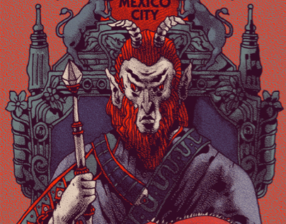 Soundgarden - México City - Gigposter