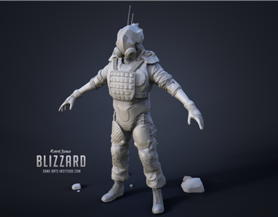 Blizzard | Game Character Model