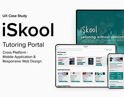 iSkool - Cross Platform UX Design and Case Study