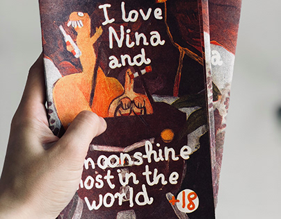 "Zine ""I love Nina and moonshine most in the world"""