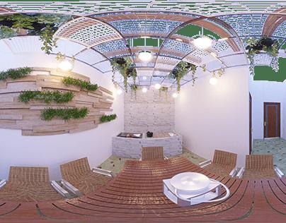 Modern Patio Design By Wahab Ahmad