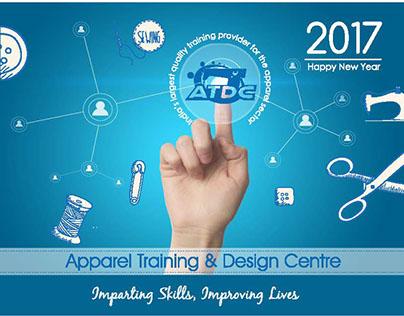 Desktop Calendar Design for ATDC
