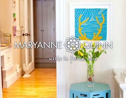 Maryanne Quinn Website and Logo Design