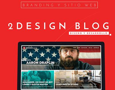 2Design Blog - Branding and Website