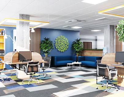 Open space для сотрудников
