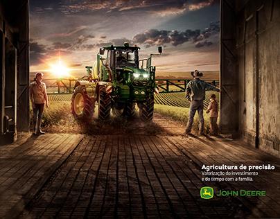 agricultura de precisão John Deere