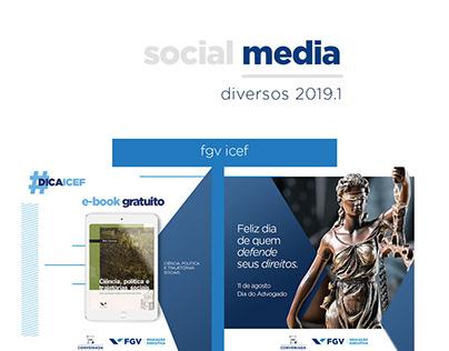DIVERSOS - SOCIAL MEDIA 2019.1