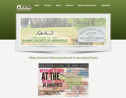 Islamic Society Of Annapolis - WordPress