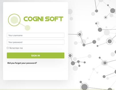 CogniSoft - Branding and UI/UX Design