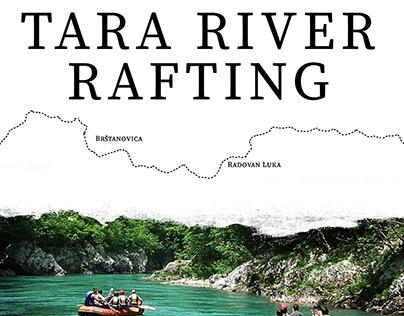 Tara River Rafting Landing Page
