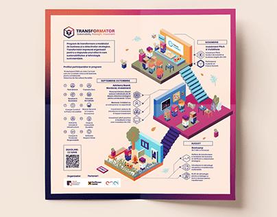 "Infographic for ""Transformator"" initiative"