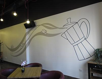 Wall branding for Afreddo