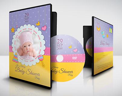 Baby Shower DVD Template Vol.10