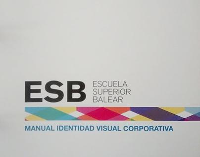 Manual de Identidad visual corporativa ESB.