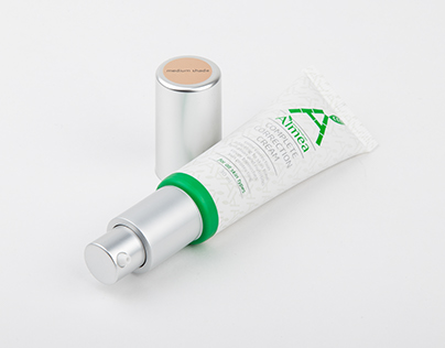 Almea CC Cream package design
