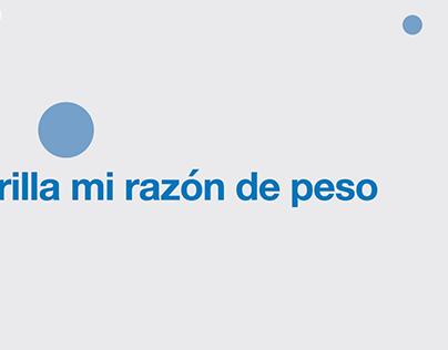 """Parrilla """"Mi razón de peso"""" y """"Esbeltex"""" (Medix)"""