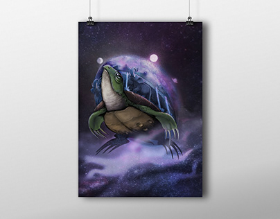 The Great Turtle A'Tuin