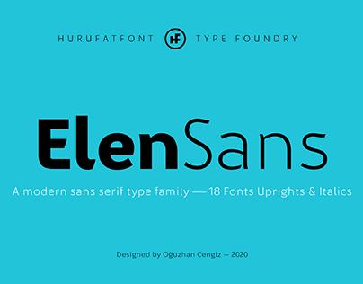 ElenSans Type Family