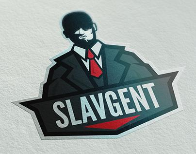 Slavgent Mascot Logo