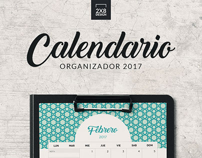 2x8design promotional calendar design 網絡促銷月曆設計