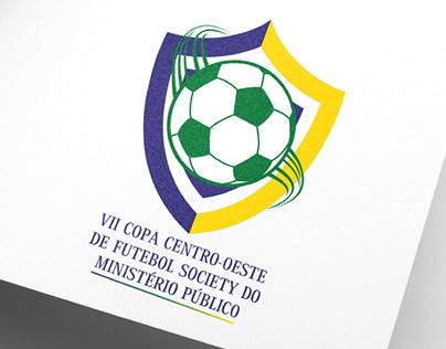 Logo Copa Centro-Oeste de Futebol Society do MP