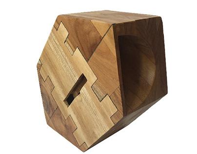 Hexasound Parlante acústico en madera
