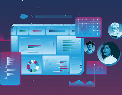 Designing a motion style for salesforce.org