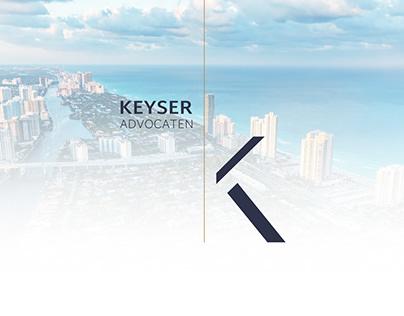Keyser Advocaten - Branding & Webdesign