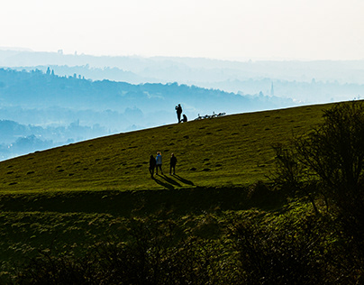 Sunset from Reigate Hill