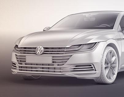 Clay renders automotive